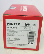 MINTEX MDB2686  Rear Brake Pads For Vauxhall Signum Vectra C 02-08 Saab 9-3 07on (Fits: Vauxhall Vectra)