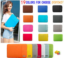 "10.1""-15.6"" Laptop Ultrabook Soft Sleeve Case Bag For MacBook Acer HP Dell Sony"