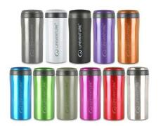 Lifeventure Thermal Mug Travel Flask Keep Drinks Hot or Cold Strong Steel