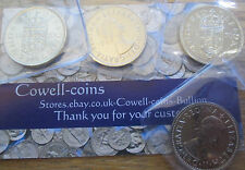 UK 1970 PROOF SCOTTISH & ENGLISH SHILLING COIN THE LAST EVER MINTED IN WALLET