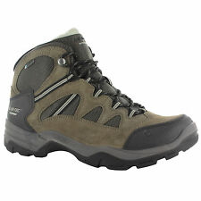 MENS HI-TEC BANDERA II WATERPROOF HIKING WALKING BOOTS SMOKEY BROWN/OLIVE/SNOW