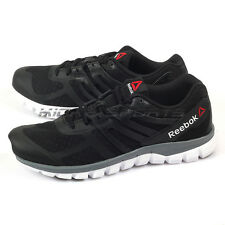 Reebok Sublite XT Cushion Breathable Running Shoes Black/White/Alloy/Grey V71864