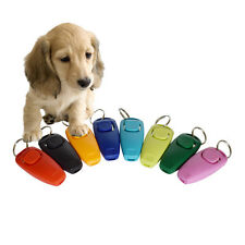 1pc Dog Clicker & Whistle- Training,Obedience,Pet Trainer Click Puppy With Guide