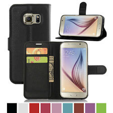 Luxury Card Wallet Stand Flip Case Leather PU Cover For SAMSUNG GALAXY S7 EDGE