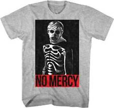 T-Shirts Sizes S-2XL New Authentic Mens The Karate Kid No Mercy Gray T-Shirt
