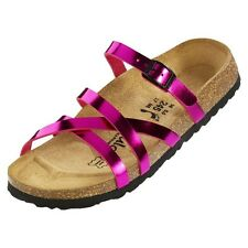 Betula Stripes Cross Buckle Sandals - Color Pink - Birko-Flor