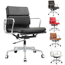 Soft Pad Executive Management Syle Chair Executive Task Chair Modern Leather