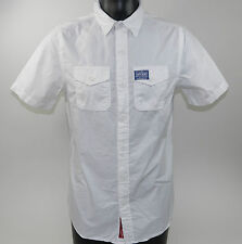 Superdry SHIRT WASHBASKET SOLID Optic White Short sleeve + new + Size M & L