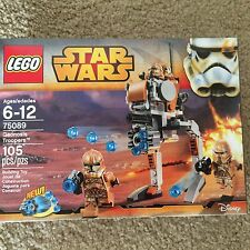 NEW Sealed LEGO LEGO Star Wars Geonosis Troopers 75089, 105 PCS