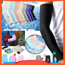 Sun Protection UV Outdoor Golf Sport Hiking Cycling Arm Sleeve Cover Warmer Cuff