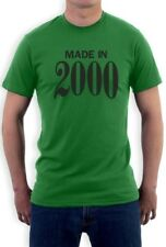Made in 2000 16th Birthday Gift Idea Retro Cool T-Shirt Sweet Sixteen