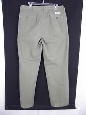 Men's olive color cotton chino causal Dress pants by Ralph Lauren Size 36 X 33
