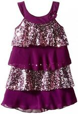 Pogo Club Girls Eggplant Natalia Dress Size 4 5/6 6X $42