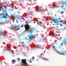60/300PC Bubble Ribbon Flowers Bows Wedding Appliques Craft Dec Mix A505