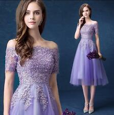 Noble Womens Mermaid  Evening Formal Party Prom Gown  Bridesmaid  Wedding Dress
