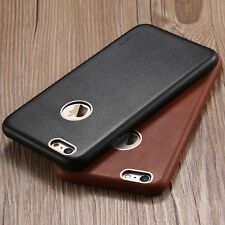 Luxury Ultrathin Genuine Leather Back Cover Case Skin For Apple iPhone 6 6S Plus
