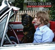 TODD SNIDER - THE EXCITEMENT PLAN NEW CD