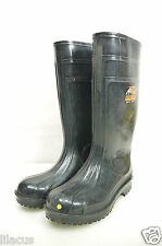 Shoes For Crews Unisex Steel Toe In Black Size 9 Pre-Owned