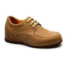 New Mens Casual Leather Lace up Dress Formal Business Classic Elevator Shoes