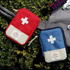 Outdoor Sports Camping Home First Aid Kit Bag Survival Portable Emergency Case N