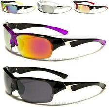 NEW X-LOOP SUNGLASSES MENS LADIES WOMENS DESIGNER SPORTS BLACK LARGE WRAP UV400