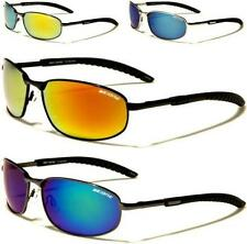 NEW SUNGLASSES BLACK POLARIZED MENS LADIES UNISEX DESIGNER SPORTS WRAP MIRRORED