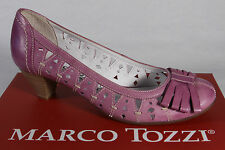 Marco Tozzi Court shoes, Slippers, Casual shoes violet Leather soft inner sole