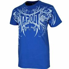 New TapouT Darkside Premium UFC MMA Cage Fighter Blue Men T-Shirt S M L