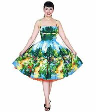 Bernie Dexter Serenity print Paris dress 50's pinup