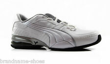 MENS PUMA CELL MINTER 3 CASUAL SPORT GYM ATHLETIC MEN'S WHITE SILVER BLACK SHOES