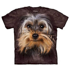 The Mountain Brand Yorkshire Terrier Dog Lover T-Shirt Brown Adult Mens