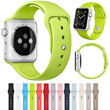 2016 iWatch Bands Sports Silicone Bracelet Strap Band For Apple Watch 38mm/42mm