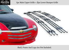 Fits 03-06 Chevy SSR Stainless Steel Billet Grille Insert