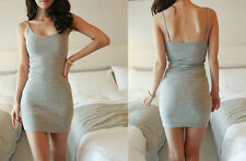 Vest Sleeveless Sexy Hip Bottoming Summer Skirt Dress Tight Package