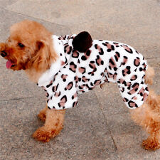 Pet Dog Coat Hoodie Winter Warm Soft Clothes Small Large Dog Coat Hoodies  cozy