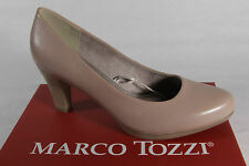 Marco Tozzi Court shoes Ballerina Slippers beige soft inner sole Real leather