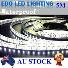 Waterproof Cool White 600 LED DC 12V 5M 3528 SMD Leds Strip Light Car Camping
