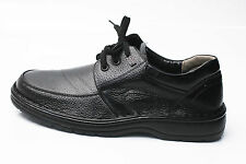Mens Black Comfort Loafers Sneaker Casual Dress Formal Leather Shoes
