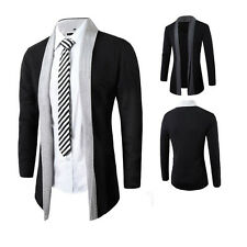 Men's Stylish Knitted Cardigan Jacket Slim Casual Sweater Coat Outwear Outcoat