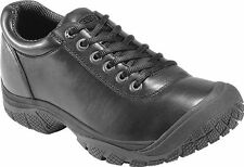 New Men's Keen 1006981 PTC Dress Oxford Black Slip Resistant Light Duty Shoes