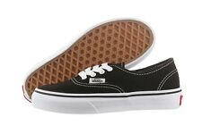 Vans Authentic VN-0EE0BLK Black Canvas Classic Casual Shoes Kids Medium Youth