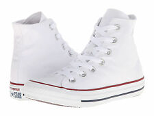 NEW MEN WOMEN CONVERSE ALL STAR OPTICAL WHITE HI M7650 SO AWESOME