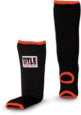 Title Classic MMA Slip-On Shin Instep Guards