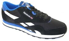 Reebok Men's Lifestyle Classic Nylon RS V66929 Black/Grey/Blue/Wht  NEW  11.5 M