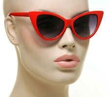 Nikita Cat Eye Women Sunglasses Red Black Brown Tortoise Vintage Retro Fashion