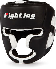Fighting Sports Gel Power Full Face Headgear Boxing MMA Head Guard