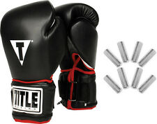 TITLE Boxing Weighted Bag Gloves Fitness Workout Training Equipment Kickboxing