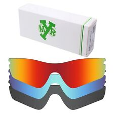 MRY POLARIZED Replacement Lenses for-Oakley Radar Path Red / Blue / Black