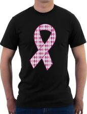 Support Breast Cancer Awareness - Big Pink Ribbon T-Shirt Fight Cancer