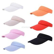 Unisex Outdoor Fashion Sun Visor Golf Tennis Hat Adjustable Sports Beach Cap